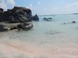 elafonisi beach an amazing pink sand beach hikertips