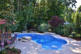 Deep Backyard Pool by Inground Pools Pool Supplies Canada