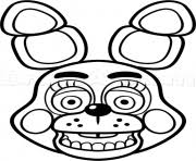fnaf mangle coloring pages five nights at freddys fnaf coloring pages