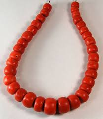 coral necklace antique images Large antique red coral strand vajra gallery jpg