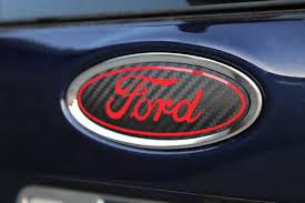 custom subaru emblem 2013 2018 ford fiesta emblem overlay rawvinylworks