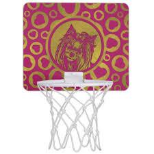 pink mini basketball hoops zazzle com au