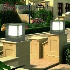 lighting garden l post lights australia outdoor pole l