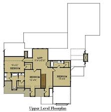 two story cottage house floor plan with garage