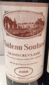 learn about chateau soutard st 1988 château soutard bordeaux libournais st émilion