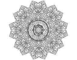printable coloring pages kaleidoscope