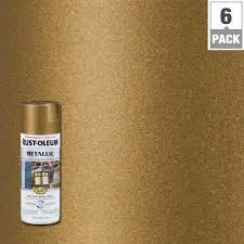 rust oleum stops rust 11 oz champagne bronze protective enamel