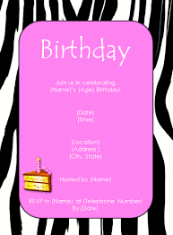 birthday invitations template 28 images blank birthday