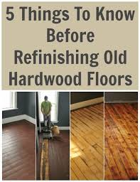 5 things to before refinishing hardwood floors