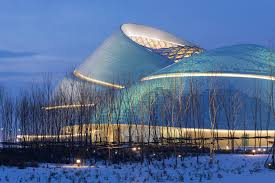 Opera House by Exclusive See New Photos Of Mad Architects U0027 Harbin Opera House