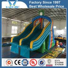 Best Backyard Water Slides 03 Inflatable Water Park Slide With Pool 03 Inflatable Water