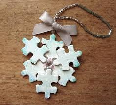 122 best puzzle crafts images on diy puzzle pieces