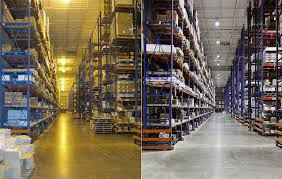 Led Warehouse Lighting Black Is The New Green In Commercial Lighting Monster Commercial