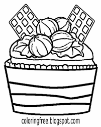 cupcake coloring page free coloring pages printable pictures to color kids drawing ideas