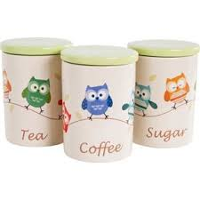 owl kitchen canisters owl canister set jpg s pi kitchen designs of 3 canisters foter for