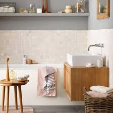 bathroom styling ideas calm bathroom with muted tones coastal inspired decorating ideas