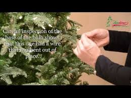 troubleshooting christmas tree lights how to fix christmas lights lighting on prelit christmas trees