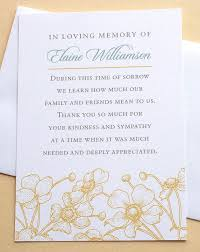 thank you for sympathy card 16 best notes images on funeral funeral ideas and