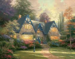 winsor manor limited edition the kinkade company