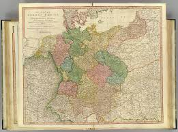 Map Of German States by German Empire David Rumsey Historical Map Collection