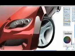 drawing a car using alias sketchbook pro youtube