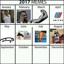 Meme Calendar - meme calendar