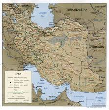 Political Map Of The Middle East by Maps Of Iran Map Library Maps Of The World