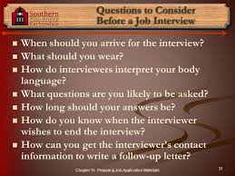 what questions do you get asked in a job interview chapter 15 preparing job application materials u201cpeople who cannot