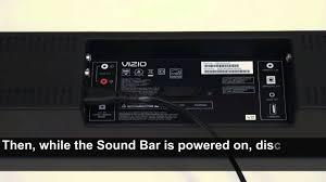 vizio sound bar flashing lights how to update firmware on your vizio sound bar youtube
