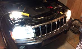jeep grand cherokee lights project hid light install on 2007 jeep grand cherokee