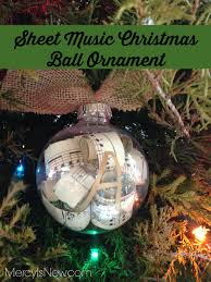 sheet music christmas ball ornament u2013 his mercy is new