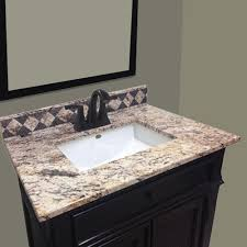 Bathroom Vanity Top Imperial Impressions 61 Wide X 22 Impressions Left Offset
