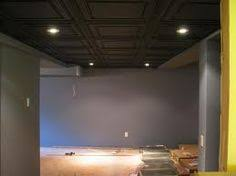 Black Ceiling Basement by Fixing Up Basement Ceiling Yourself Google Search Basement