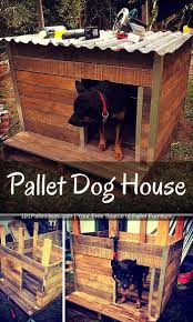 Luxury Home Stuff by How To Build A Pallet Dog House In A Perfect Manner