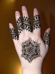 mehndi designs for hands step by step usually young and