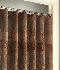 brown patterned shower curtains shower curtains pinterest