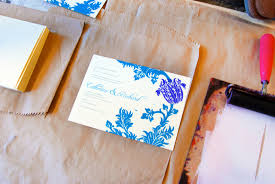 katharine watson introducing custom wedding invitations