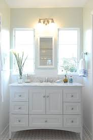 How To Make Bathroom Cabinets - how to make any bathroom look bigger