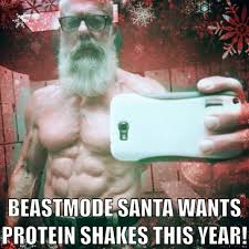 Santa Meme - fitness weight loss memes
