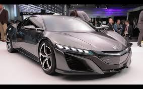 honda supercar concept acura nsx concept 2013 detroit auto show youtube
