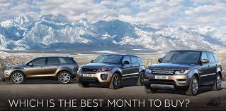 range rover sport lease which is the best month to buy