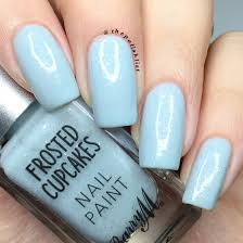 the polish list barry m frosted cupcake collection