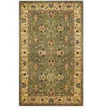 area rugs home decorators home decorators collection rochelle green 8 ft x 11 ft area rug