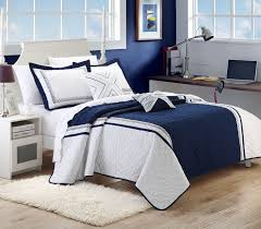 Bedroom Decorating Ideas With White Comforter Bedroom Charming Navy Blue Comforter For Bedroom Furniture Ideas