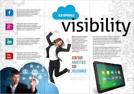 social media brochure template 16 marketing brochure templates free sle exle format