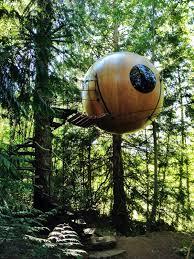 free spirit spheres qualicum vancouver island bc canada