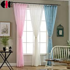 rideaux de chambre blanc rideau tissu imprimé chambre décor rideaux tulle