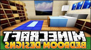 bedroom designs minecraft interior design