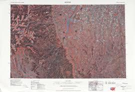 Map Denver Colorado by Denver Topographic Maps Co Usgs Topo Quad 39104a1 At 1 250 000
