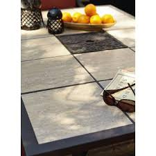Patio Table Tile Top Jaclyn Smith Clermont Dining Table With Ceramic Tiled Top Kmart